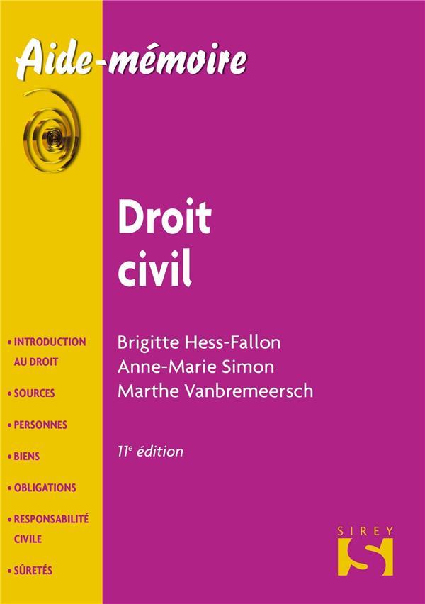 Droit civil (11e édition)