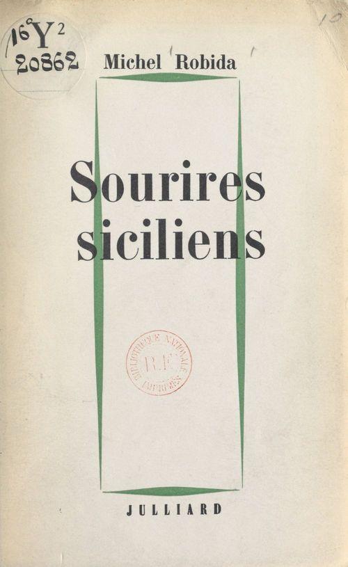 Sourires siciliens  - Michel Robida