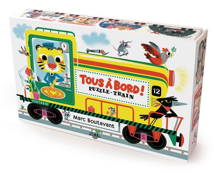 Tous à bord ! puzzle-train