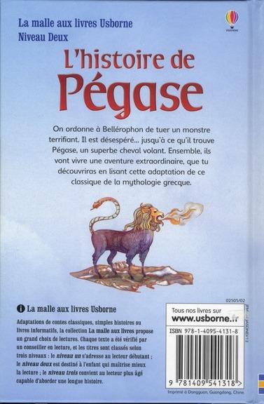 l'histoire de pégase