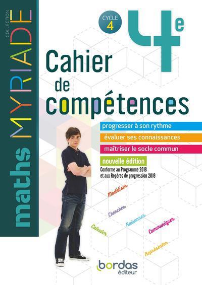 MYRIADE ; mathématiques ; 4e (édition 2019)