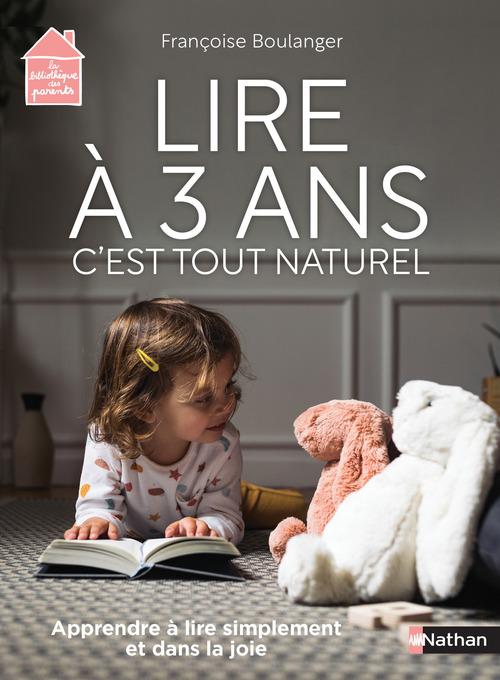 lire à 3 ans : c'est tout naturel