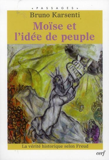 Moïse et l'idée de peuple
