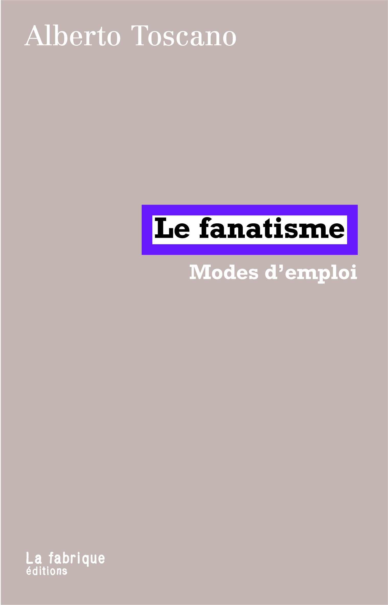 Le Fanatisme