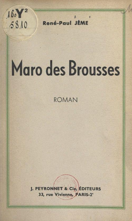 Maro des Brousses