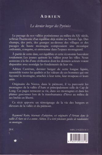 Adrien ; le dernier berger des Pyrénées