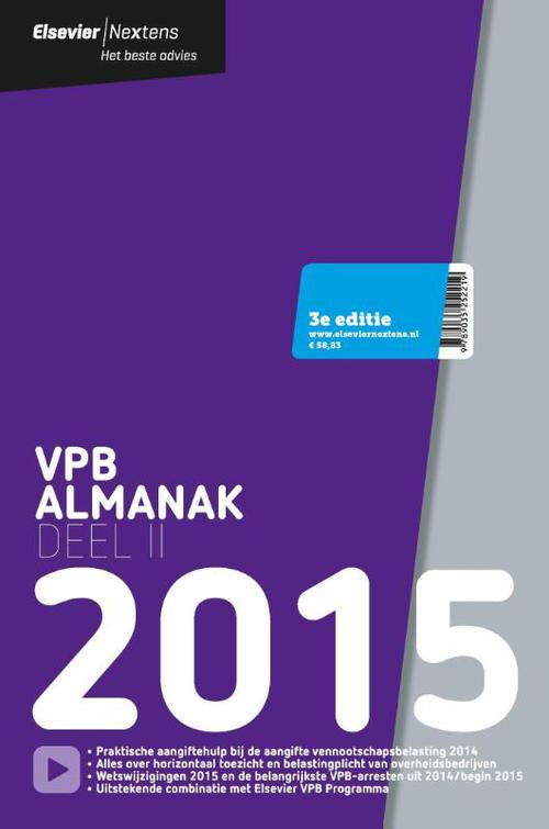 Elsevier VPB almanak - 2015 deel 2