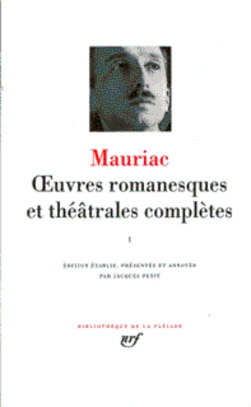 Oeuvres romanesques et théâtrales complètes t.1