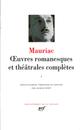 OEUVRES ROMANESQUES ET THEATRALES COMPLETES - VOL01