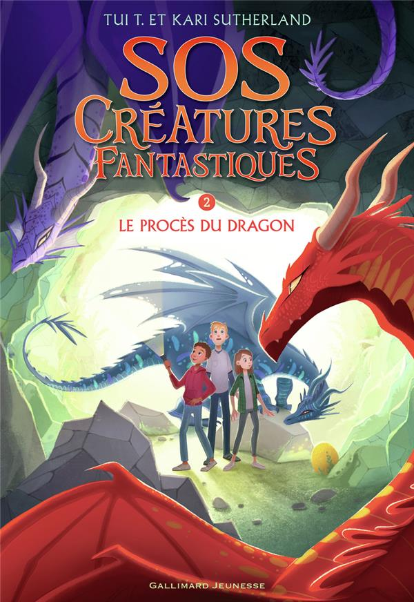 S.O.S. créatures fantastiques T.2 ; le procès du dragon