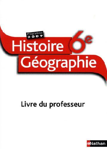 Histoire-Geographie 6e Prof.09