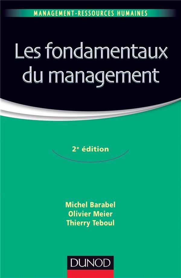 Les fondamentaux du management (2e édition)