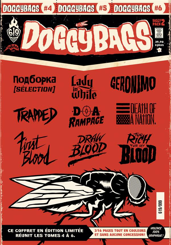 DoggyBags ; COFFRET VOL.2 ; T.4 A T.6