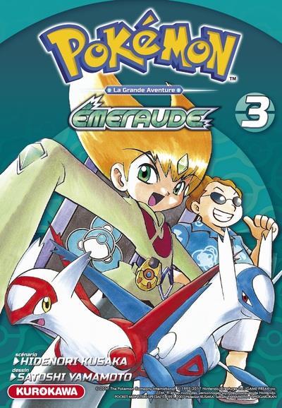 Pokémon ; la grande aventure - Rouge Feu et Vert Feuille / Emeraude t.3