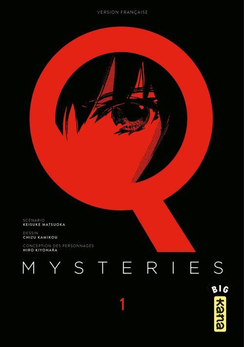 Q Mysteries - Tome 1  - Keisuke Matsuoka  - Chizu Kamikou  - Hiro Kiyohara