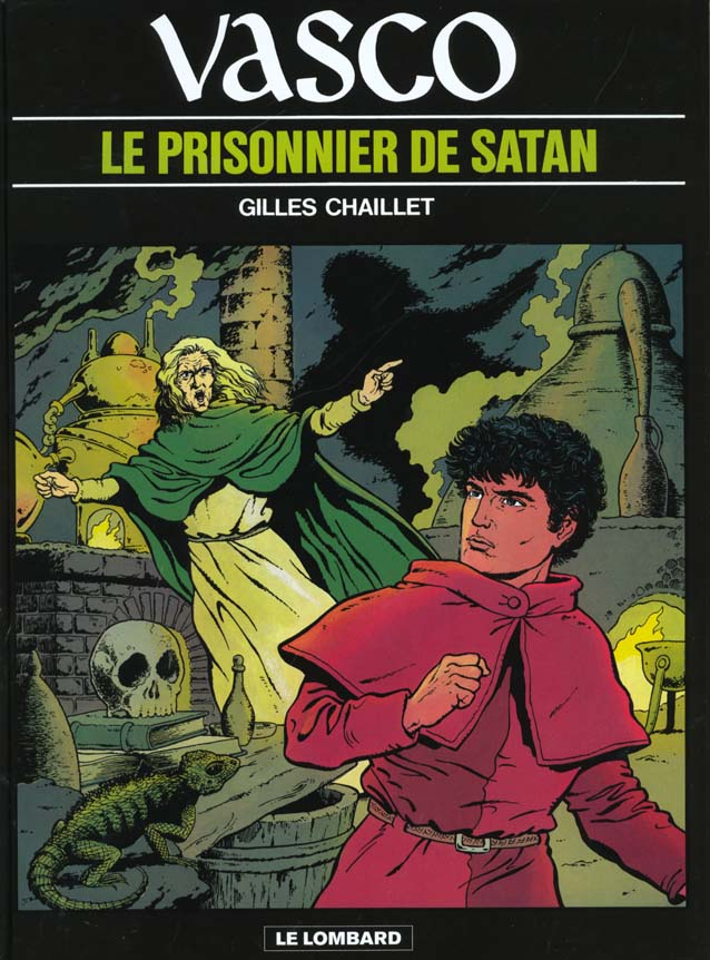 Vasco t.2 ; le prisonnier de Satan