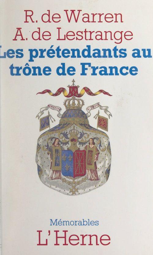 Les prétendants au trône de France