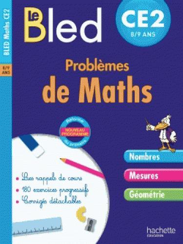CAHIERS BLED  -  PROBLEMES DE MATHS  -  CE2 COLLET, JEAN