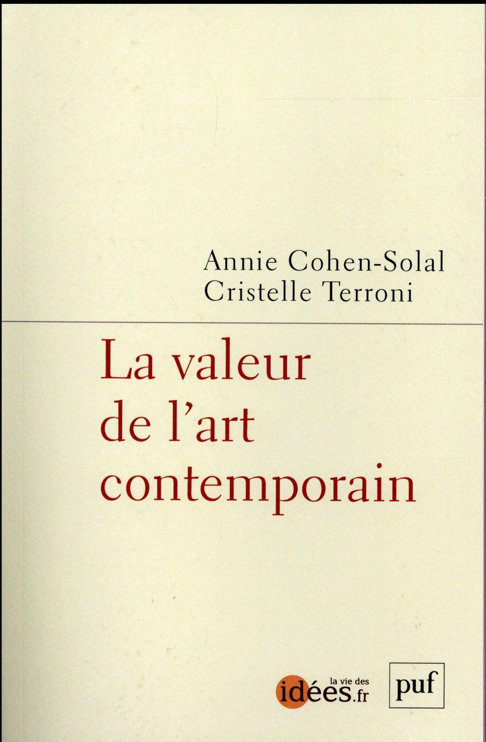 La valeur de l'art contemporain