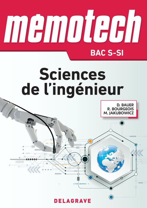 MEMOTECH ; sciences de l'ingénieur ; bac S option SI