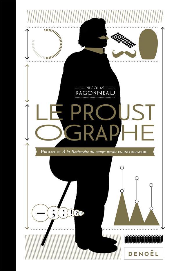 Le proustographe  : Proust et à la recherche du temps perdu en infographie