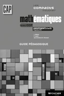 Mathématiques groupement A et B ; CAP industriels ; corrigé