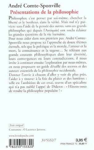 présentations de la philosophie