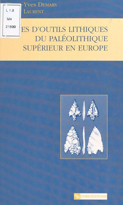 Type d'outils lithiques du paleolithique superieur ; nouvelle edition