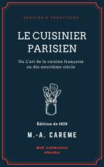 Vente EBooks : Le Cuisinier parisien  - Marie-Antoine Carême