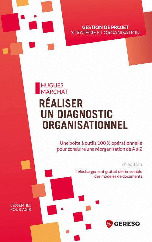 Réaliser un diagnostic organisationnel ; une boite à outils 100% opérationnelle pour conduire une réorganisation de A à Z (6e édition)