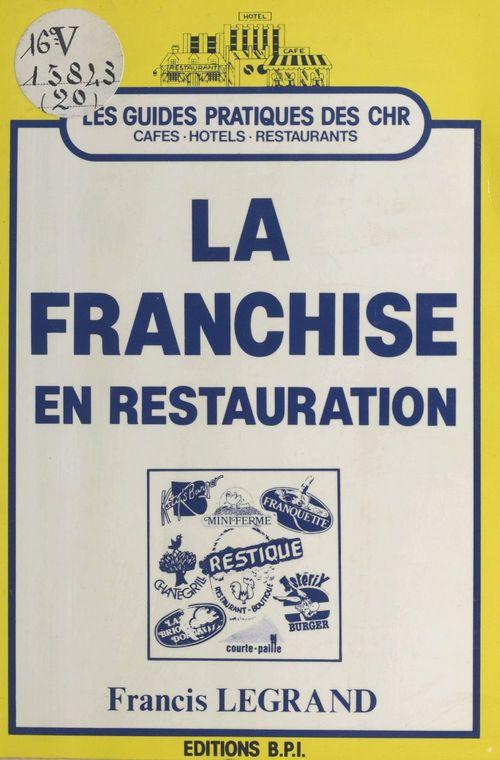 La franchise en restauration