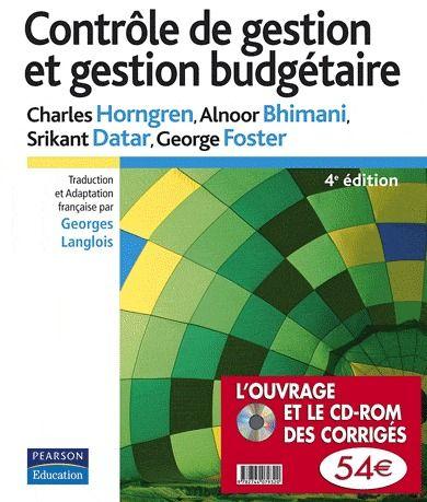 Controle De Gestion Et Gestion Budgetaire (4e Edition)