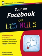 Vente EBooks : Tout sur Facebook Pour les Nuls, 2e  - Sébastien LECOMTE - Yasmina SALMANDJEE LECOMTE