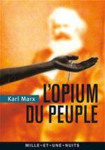 Vente Livre Numérique : L'Opium du peuple  - Karl MARX