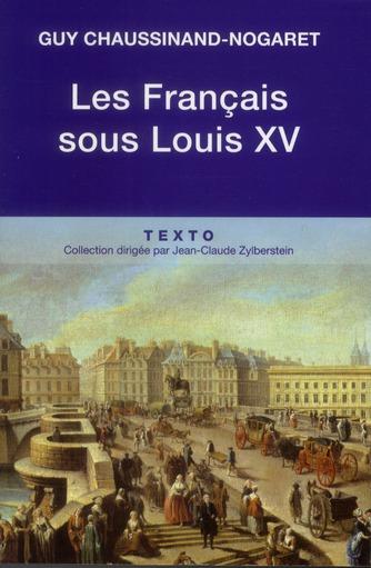 Les Français sous Louis XV