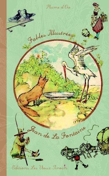 Fables illustrées Jean de la Fontaine