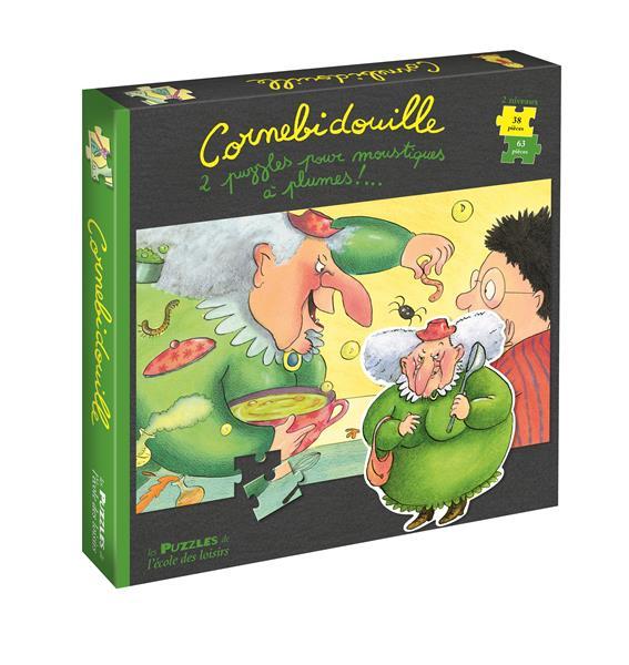 Cornebidouille ; 2 puzzles pour moustiques à plumes