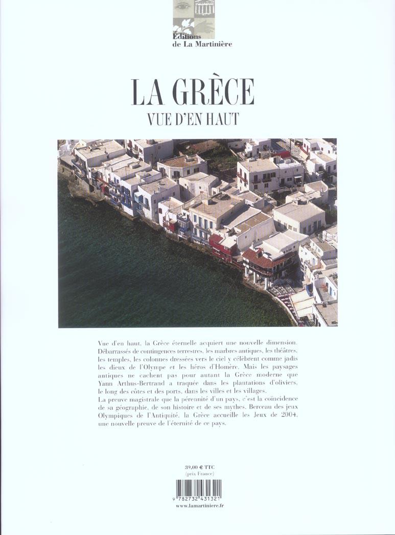 La Grèce vue d'en haut