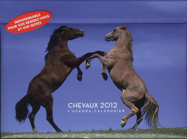 L'agenda-calendrier ; chevaux 2012