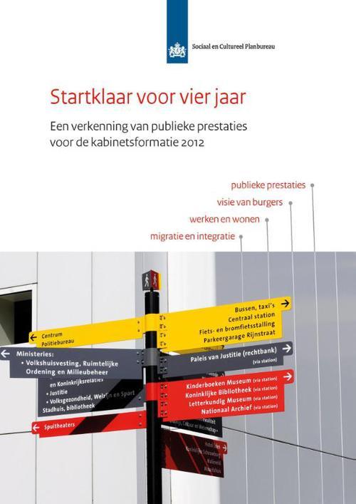 Startklaar voor vier jaar - 2012