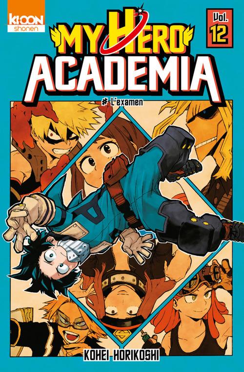 my hero Academia t.12 ; l'examen