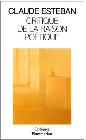 Critique de la raison poetique