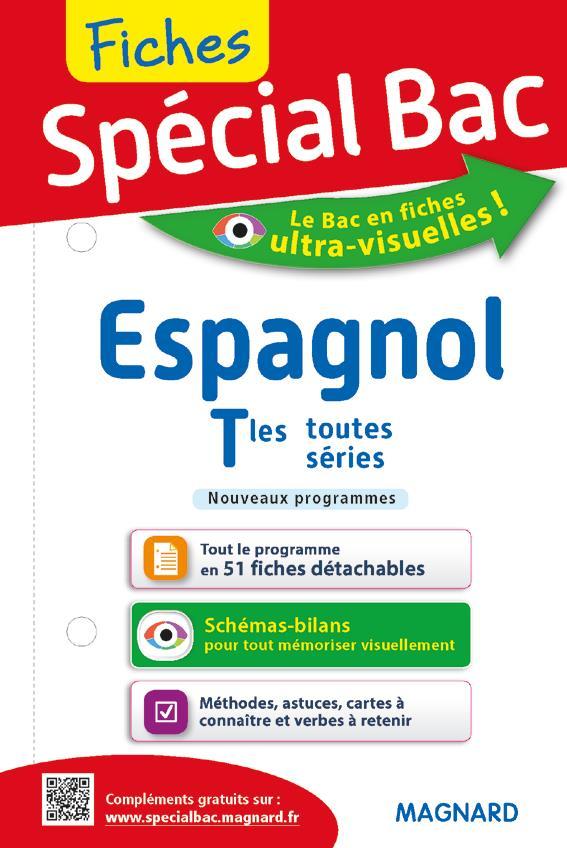Fiches Special Bac ; Espagnol ; Terminales Toutes Series