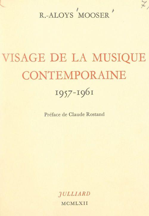 Visage de la musique contemporaine