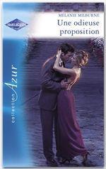 Vente EBooks : Une odieuse proposition - Piège pour un célibataire (Harlequin Azur)  - Melanie Milburne - Amanda Browning