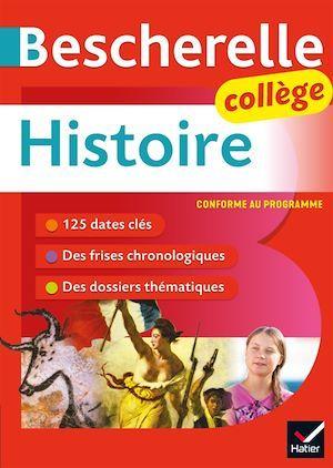 Bescherelle ; histoire ; collège