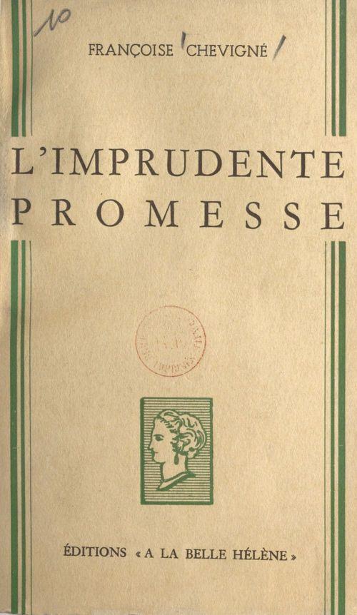 L'imprudente promesse