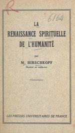 La renaissance spirituelle de l'humanité