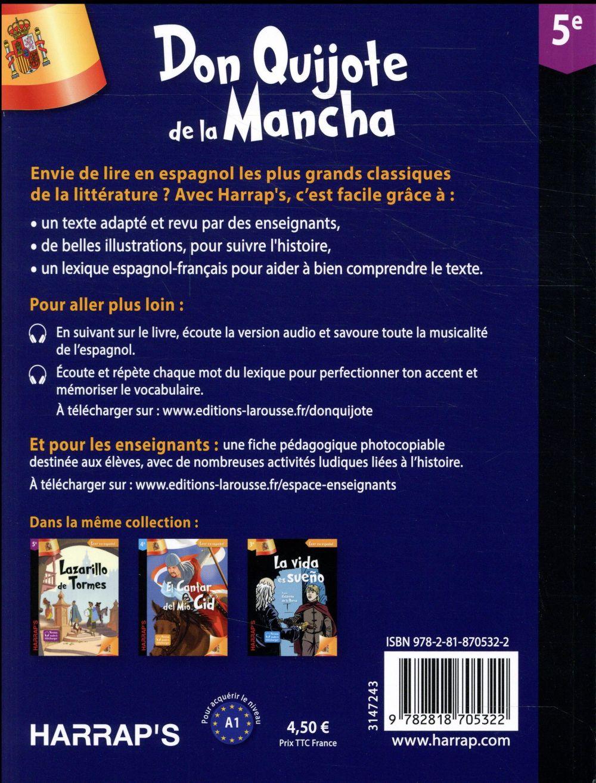 Harrap's Don Quijote de la Mancha ; 5e