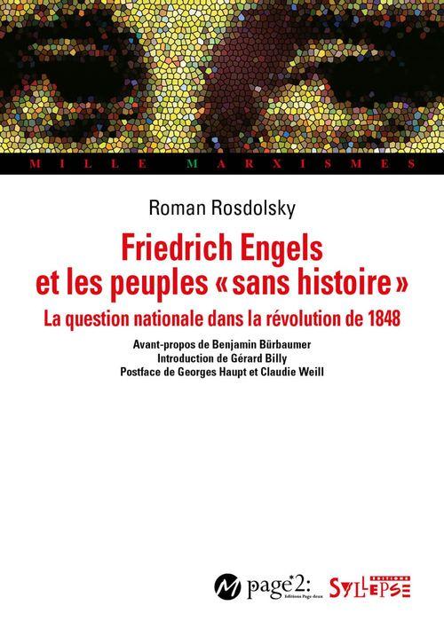Friedrich Engels et les peuples «sans histoire»